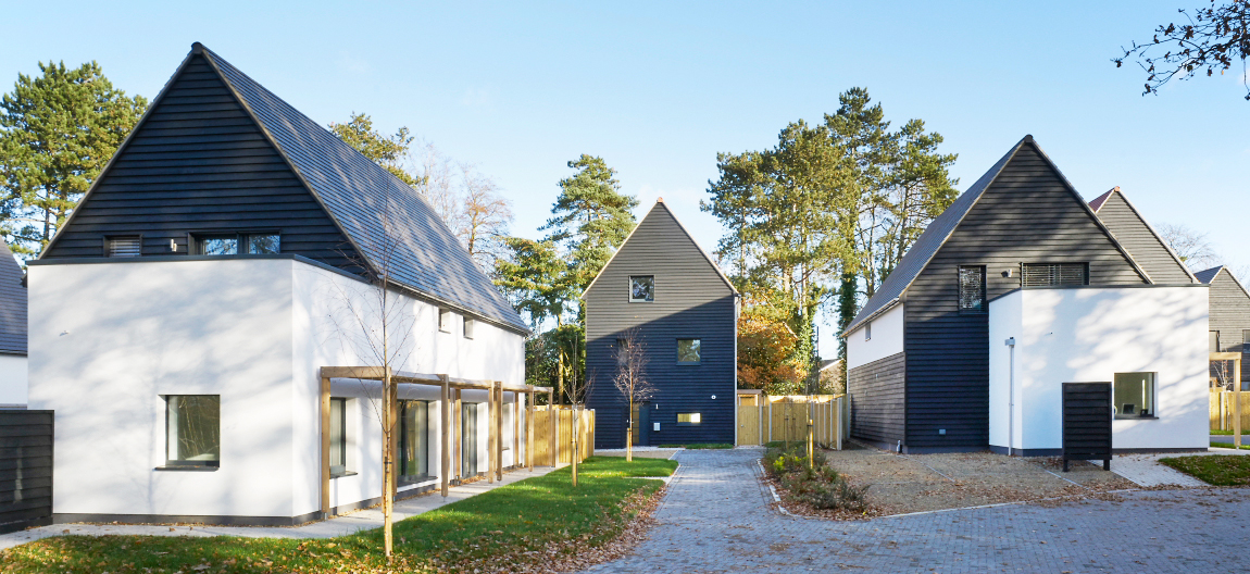 Project Feature: Baumit OpenSystem provides interior comfort and self-clean exterior for Passivhaus development