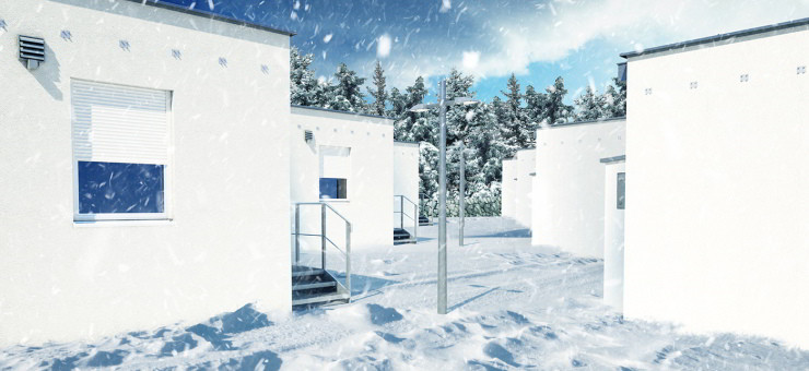Baumit Guide: Top tips for rendering in winter